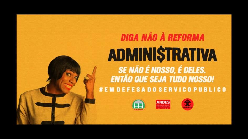 Almerinda é a mais nova voz mato-grossense contra a Reforma Administrativa